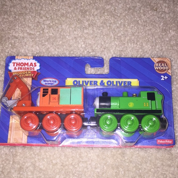 Thomas Friends Two Wooden Trains Boutique